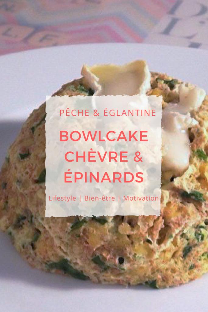 Bowlcake chèvre-épinards - Pêche & Eglantine