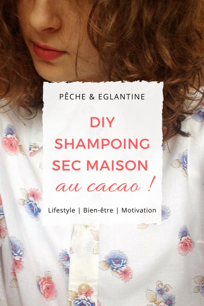 DIY Shampoing sec maison au cacao ! Pêche & Eglantine