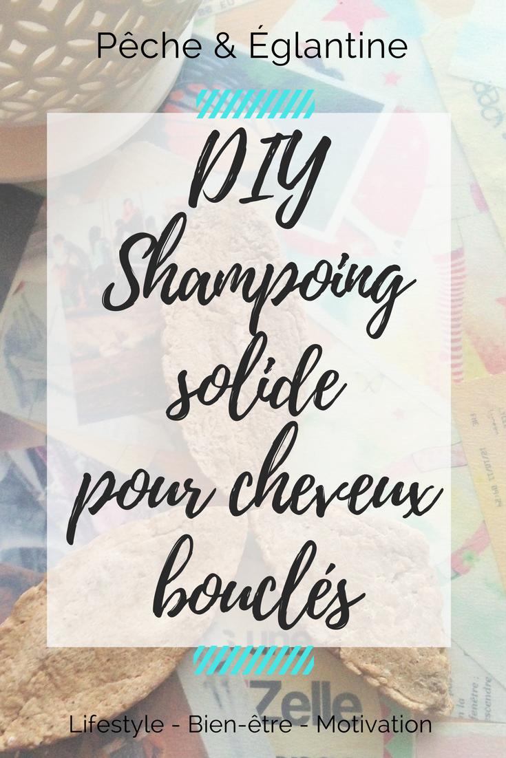 DIY Shampoing solide pour cheveux bouclés et ondulés - Pêche & Eglantine