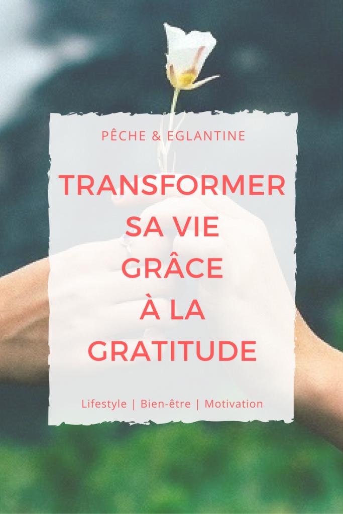 Transformer sa vie grâce à la gratitude - Pêche & Eglantine