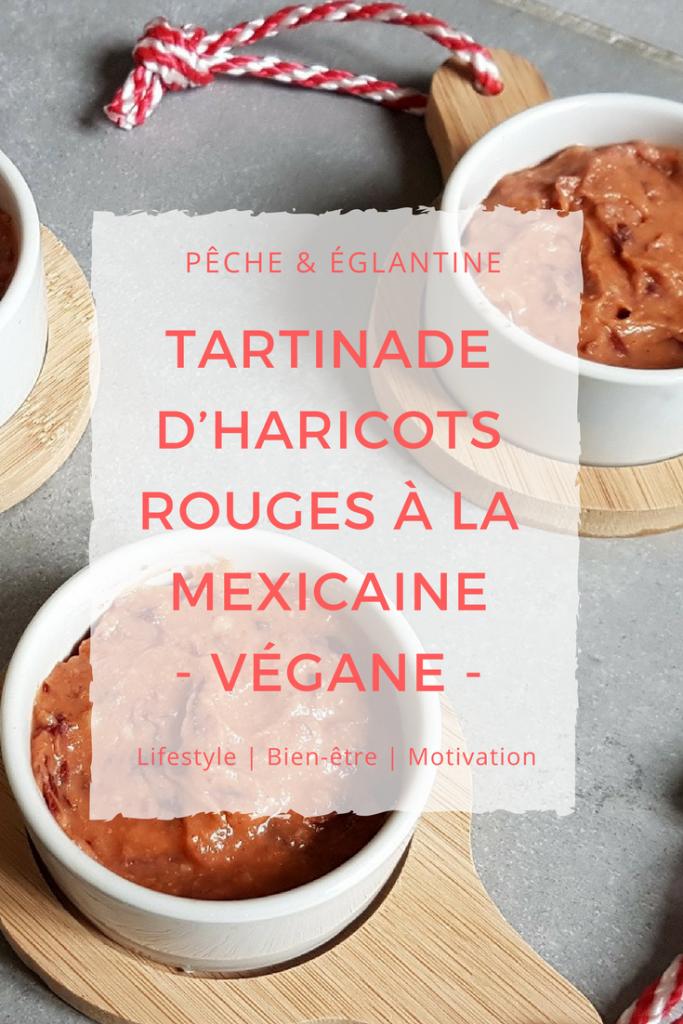 Tartinade d'haricots rouges à la mexicaine – Recette végane - Pêche & Eglantine