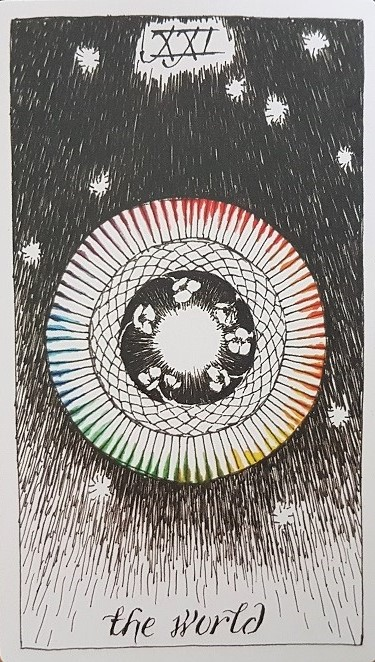 Côtoyer les étoiles - Wild Unknown Tarot World