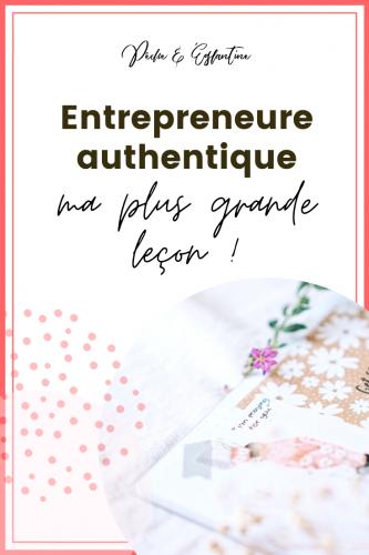 Mon conseil aux entrepreneurs