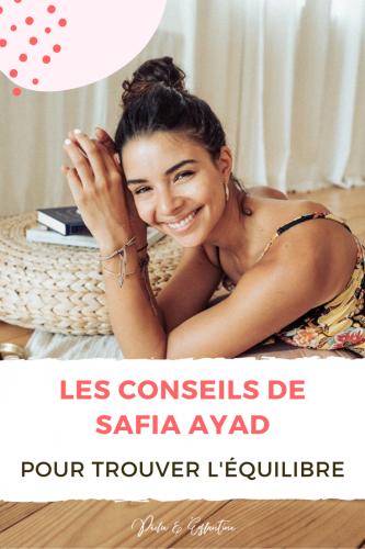 Safia Ayad podcast conseils