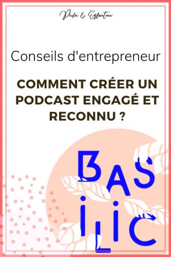 Gagner sa vie avec son podcast engagé avec Jeane de Basilic